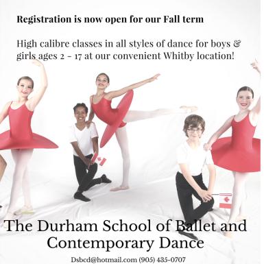 Registration Ballet Ad